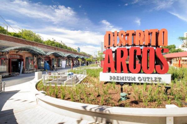 Distrito Arcos Premium Outlet de Palermo