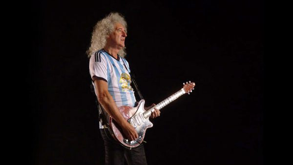 Brian May,  integrante de Queen