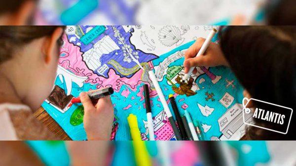 Atlantis Mapas es un proyecto del actor argentino Juan Minujin