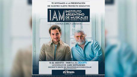 Ricky Pashkus y Fer Dente se juntaron para construir un interesante proyecto educativo IAM el Instituto Argentino de Musicales.